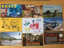 Field day QSL cards