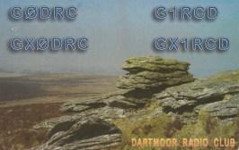 Dartmoor Radio Club QSL card