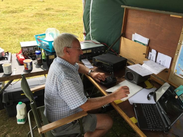 Alan operating