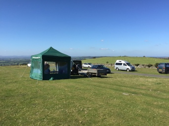The field day site
