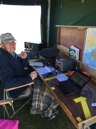 Peter hard at work
